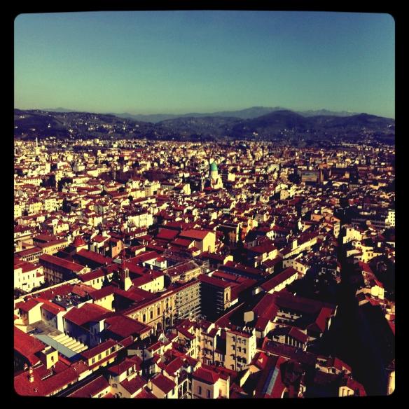 Vista da cidade!
