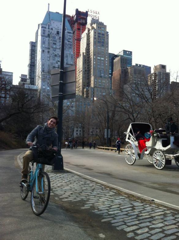 Passeio de Bike no Central Park
