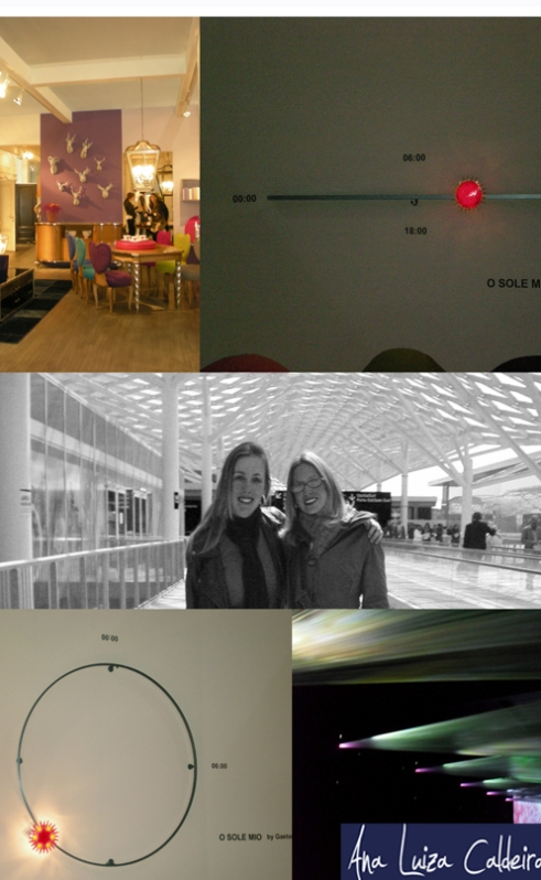 Objetos, mobiliário, luz...