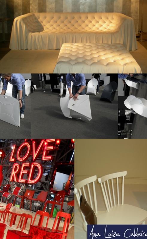 Todo ano, muitas cadeiras e lançamentos!!